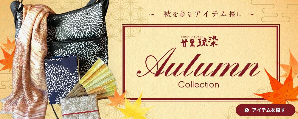 オータムコレクション(秋を彩るアイテム探し)